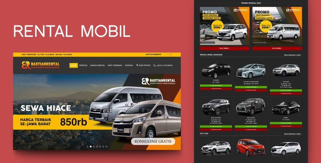 1. Demo Website - Rental Mobil