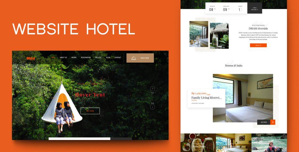 10. Demo Website - Website Hotel