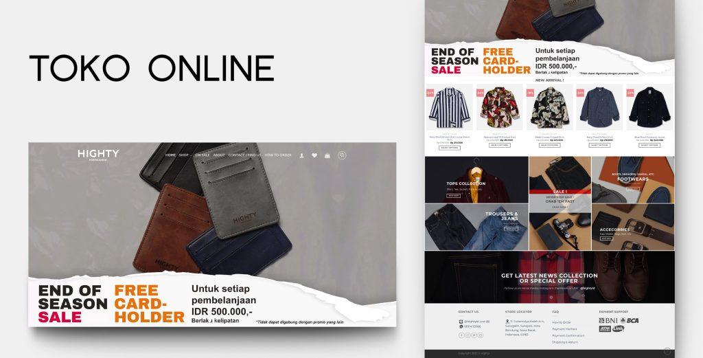 3. Demo Website - Toko Online