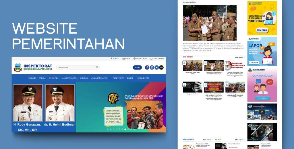 7. Demo Website - Website Pemerintahan