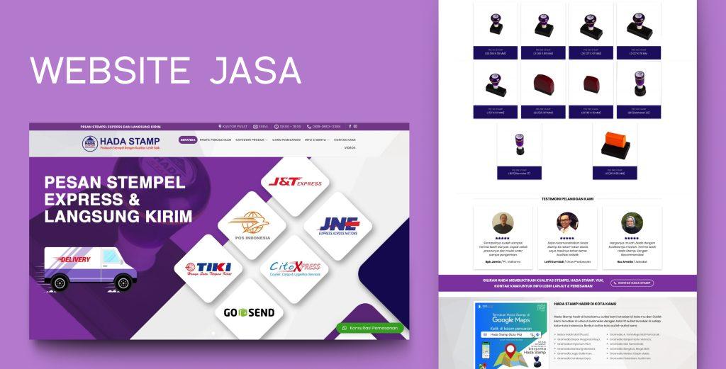 9. Demo Website - Website Jasa